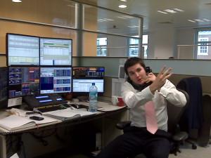 broker al telefono