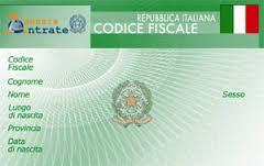 codice fiscale tessera